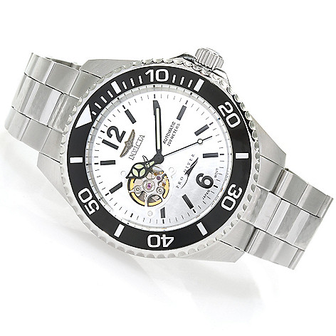 623-253 - Invicta 47mm Pro Diver Automatic Open Heart Bracelet Watch