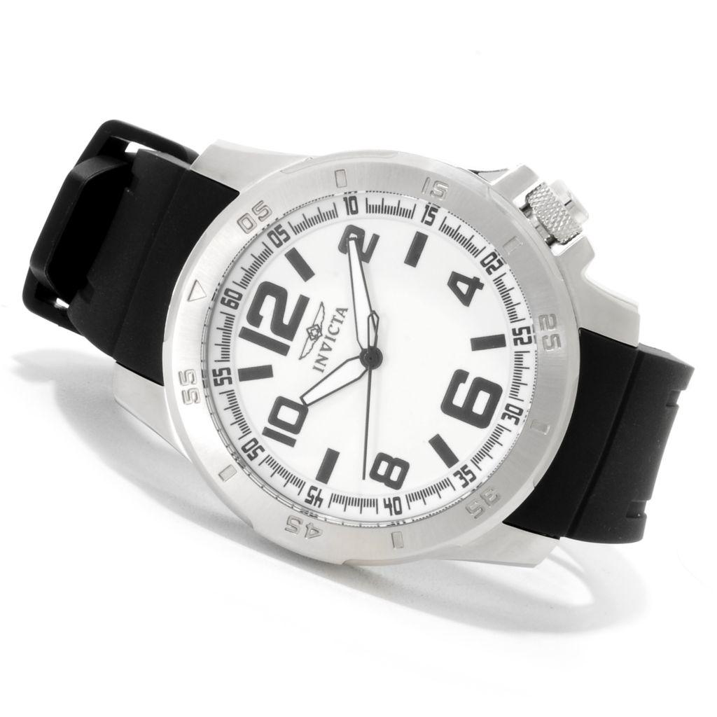 623-261 - Invicta Men's Specialty Sport Diver Polyurethane Strap Watch w/Three-Slot Dive Case