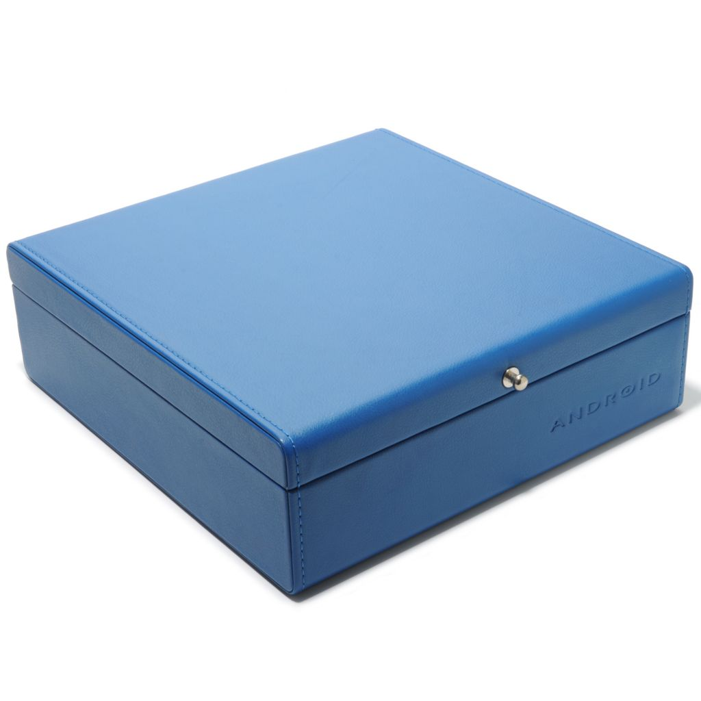 623-351 - Android 12-Slot Leatherette Collector's Watch Box