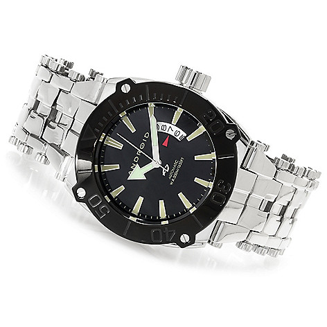 623-363 - Android Men's Millipede Automatic Stainless Steel Bracelet Watch