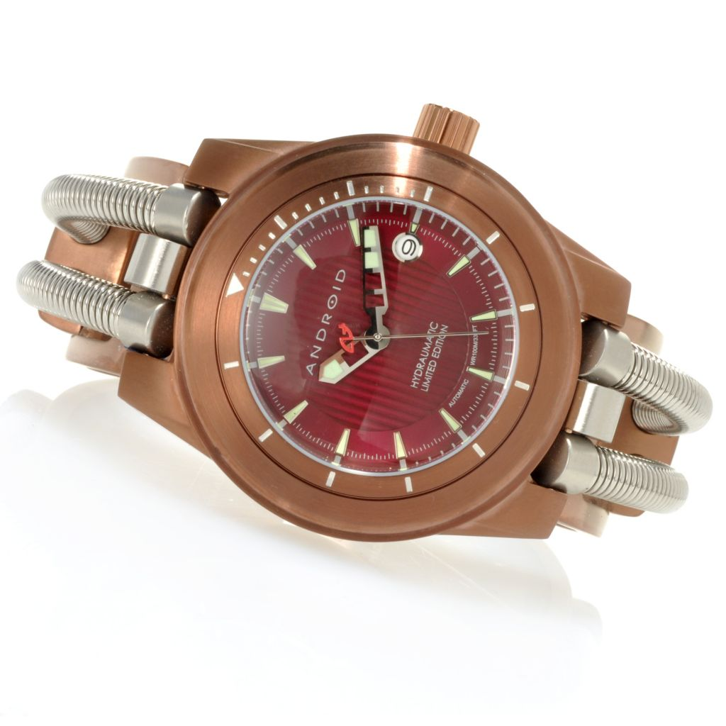 623-365 - Android Men's Hydraumatic Limited Edition Automatic Stainless Steel Cuff Watch