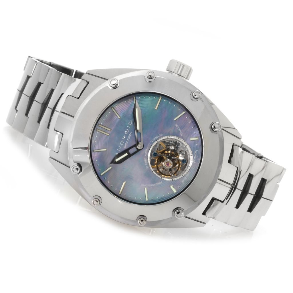 623-371 - Android Men's Virtuoso T100 Automatic Tourbillon Bracelet Watch