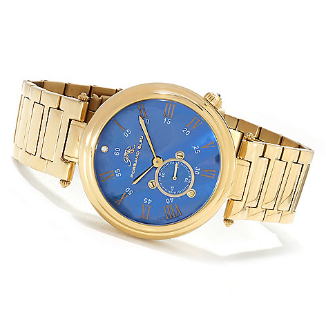 623-375 - Porsamo Bleu Women's ''The Celeste'' Watch Made w/ Swarovski® Elements
