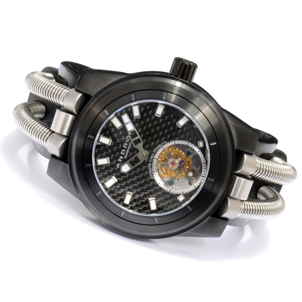 623-376 - Android 46mm Hydraumatic G7 Limited Edition Automatic Flying Tourbillon Cuff  Watch