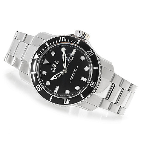 623-398 - Invicta Men's Pro Diver Scuba II Stainless Steel Bracelet Watch w/ One-Slot Dive Case