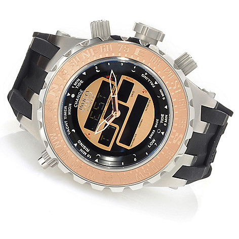 623-477 - Invicta Reserve Men's Specialty Subaqua Intrinsic Swiss Ana/Digi Silicone Strap Watch