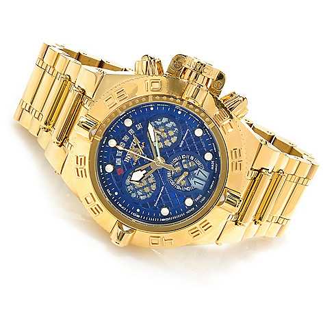623-513 - Invicta Men's Subaqua Noma IV Swiss Chronograph High Polish Bracelet Watch