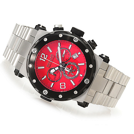 623-537 - Renato 46mm Destructor Limited Edition Swiss Made Quartz Chronograph Bracelet Watch