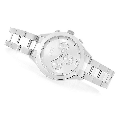 623-700 - Invicta Women's Angel Quartz Multi Function Stainless Steel Bracelet Watch