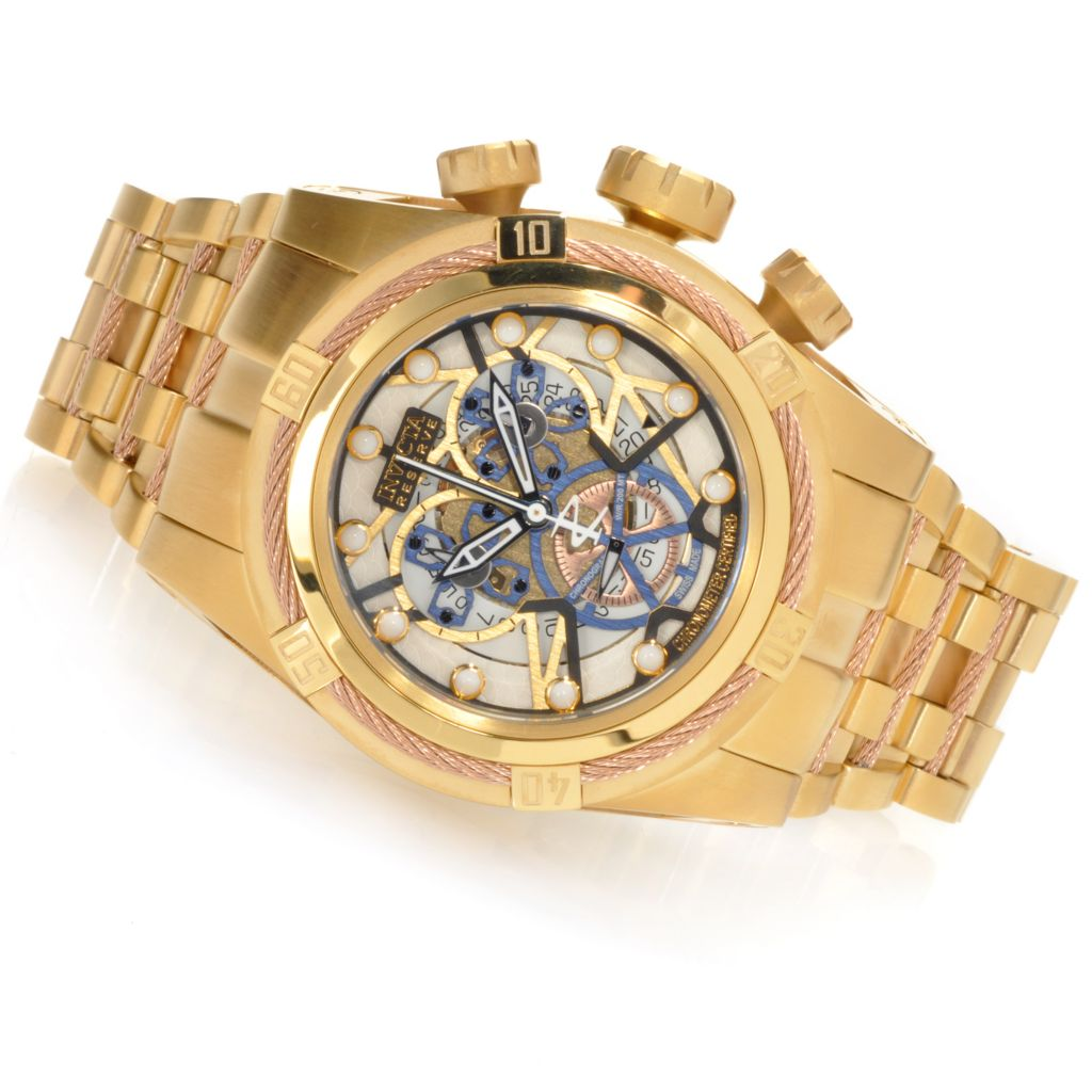 623-701 - Invicta Reserve Men's Bolt Zeus Swiss Made COSC Quartz Chronograph Bracelet Watch