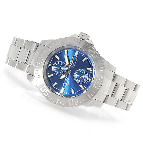 623-763 - Invicta Men's Pro Diver Ocean Baron Quartz Bracelet Watch w/ Three-Slot Dive Case
