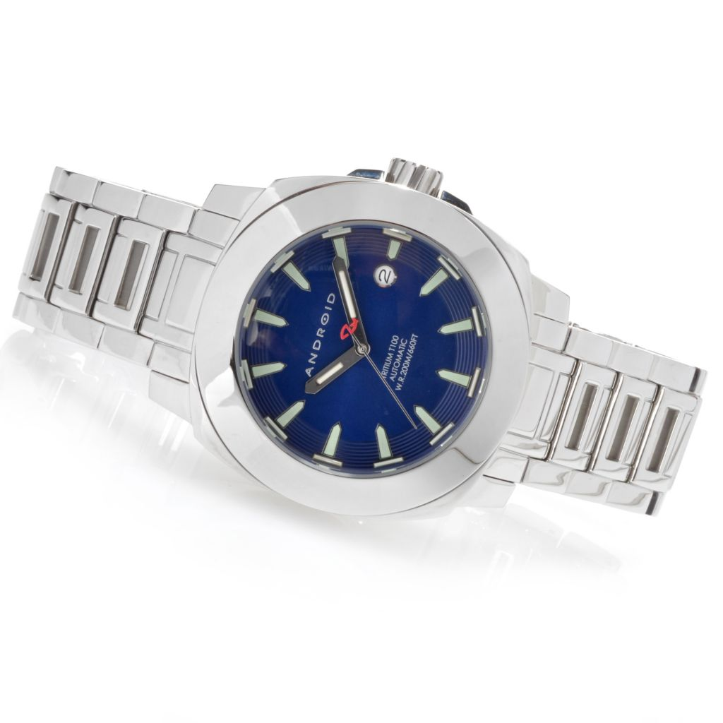 623-802 - Android 47mm Parma T100 Automatic Stainless Steel Bracelet Watch