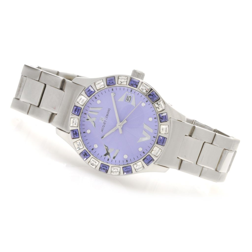 623-814 - Jacques Lemans Women's La Passion Rome Quartz Watch Made w/ Swarovski® Elements