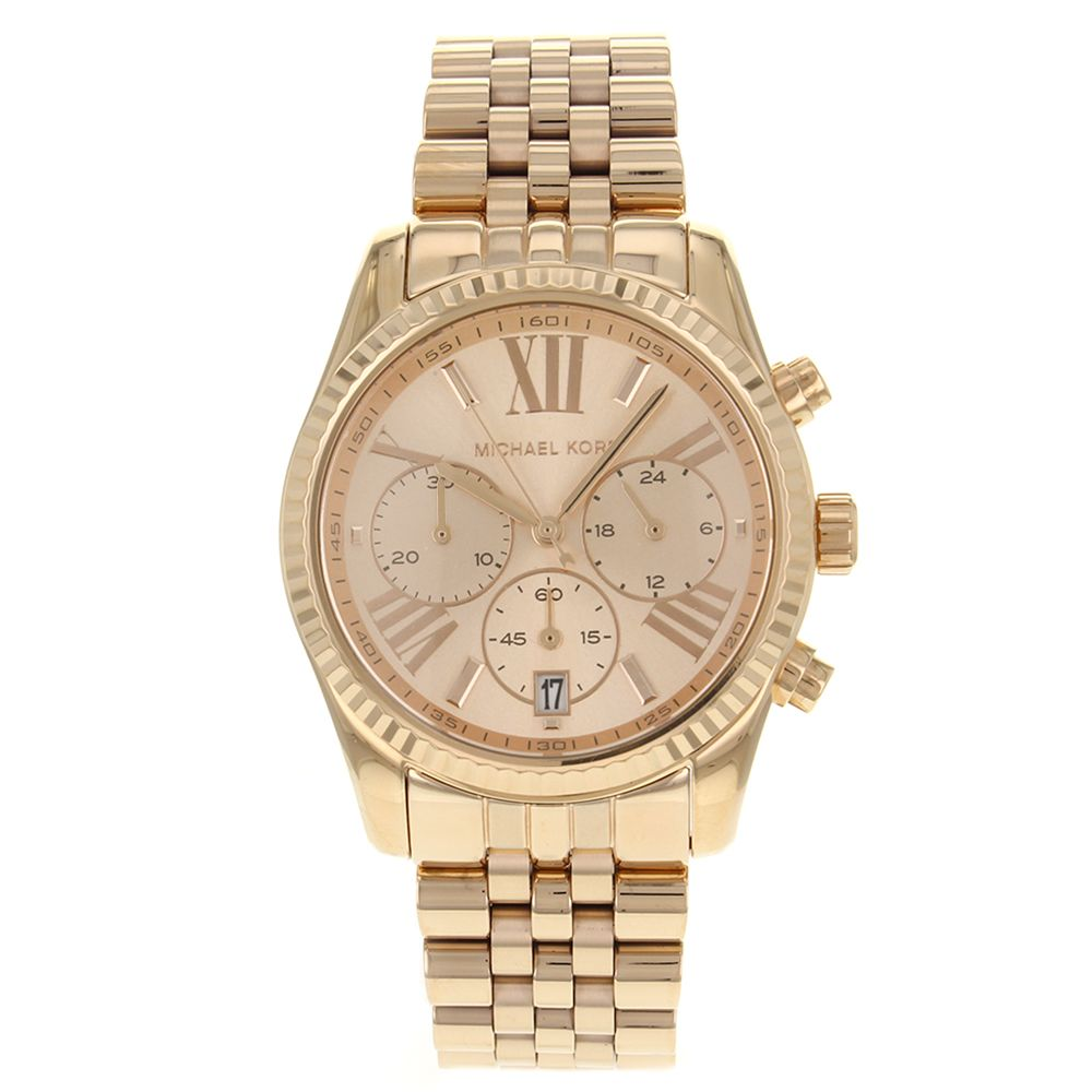 623-937 - Michael Kors Women's Lexington Quartz Stainless Steel Bracelet Watch