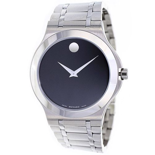 623-961 - Movado Men's Classic Quartz Stainless Steel Bracelet Watch