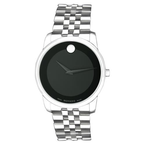623-966 - Movado Men's Museum Quartz Stainless Steel Bracelet Watch