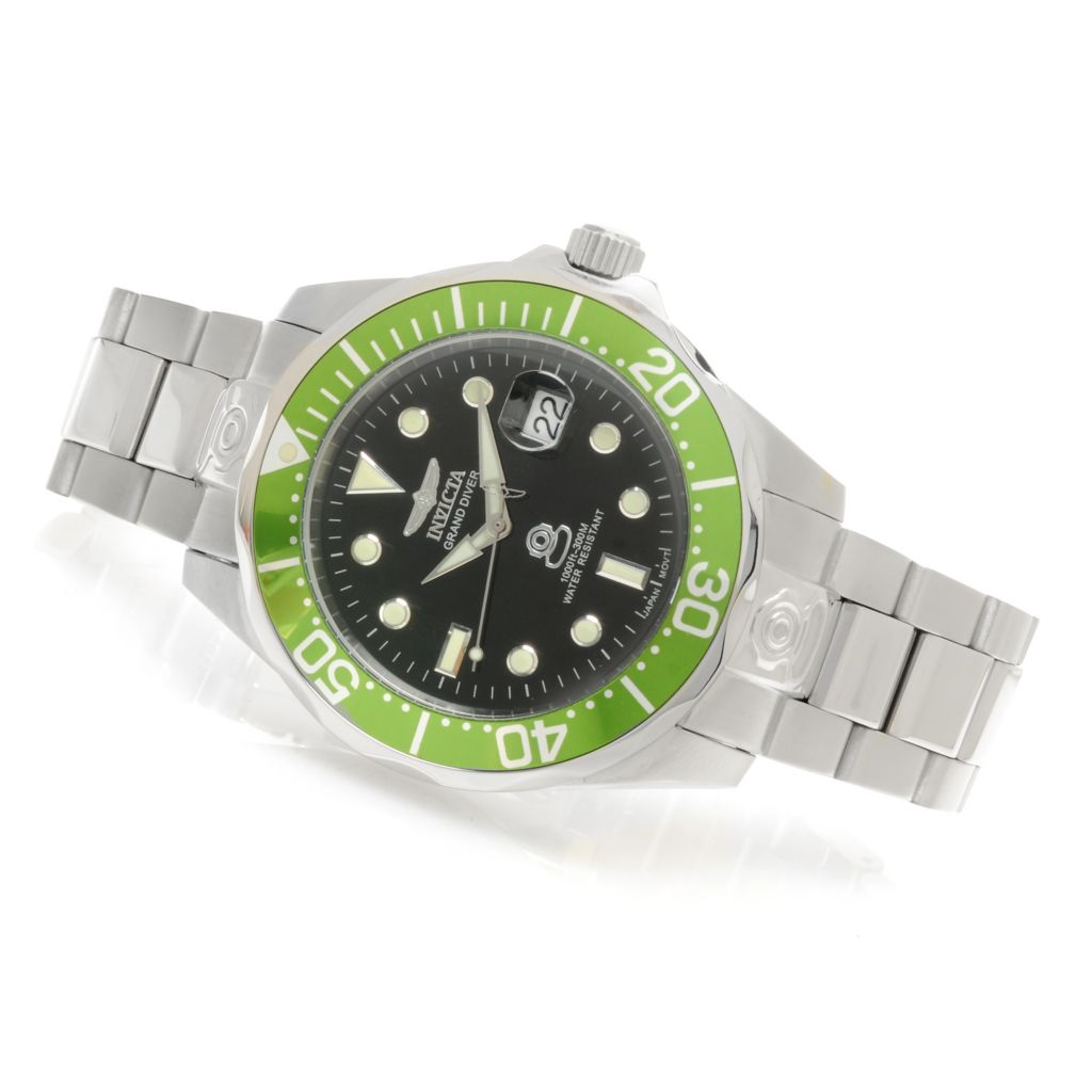 623-981 - Invicta 47mm Grand Diver Automatic Stainless Steel Bracelet Watch