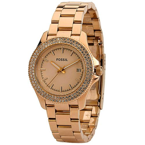 624-018 - Fossil Women's Cecile Quartz Stainless Steel Bracelet Watch