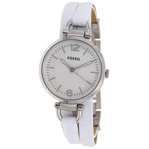 624-028 - Fossil Women's Georgia Quartz Leather Strap Watch
