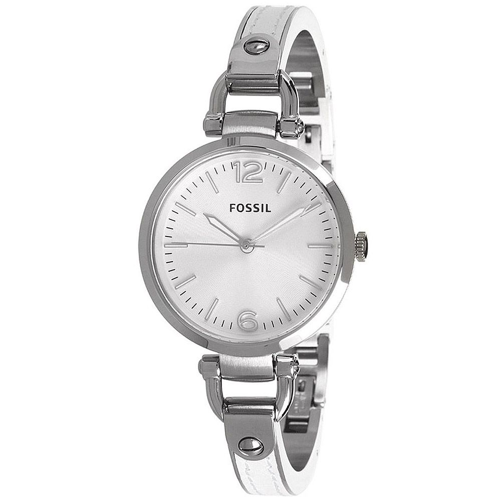 624-031 - Fossil Women's Georgia Quartz Stainless Steel Bracelet Watch