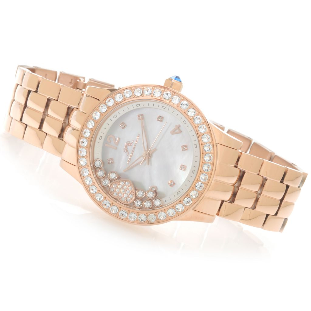 624-041 - Porsamo Bleu Women's Bellezza Quartz Watch Made w/ Swarovski® Elements