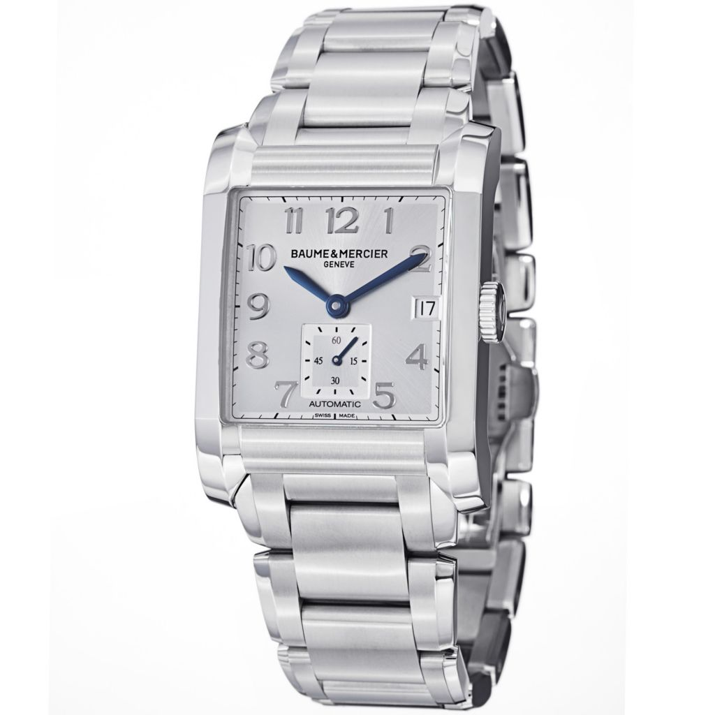 624-049 - Baume & Mercier 32mm Hampton Swiss Automatic Stainless Steel Bracelet Watch
