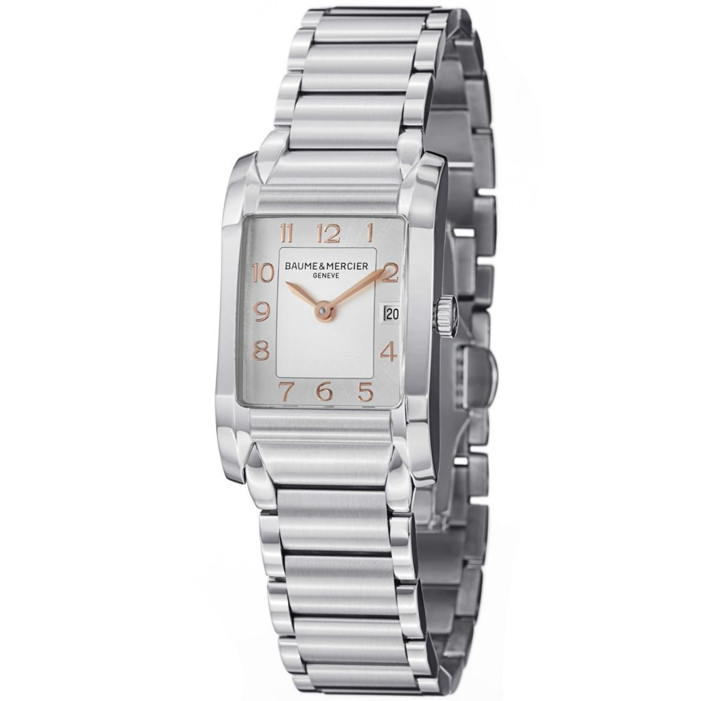 624-051 - Baume & Mercier Women's Hampton Swiss Quartz Stainless Steel Bracelet Watch