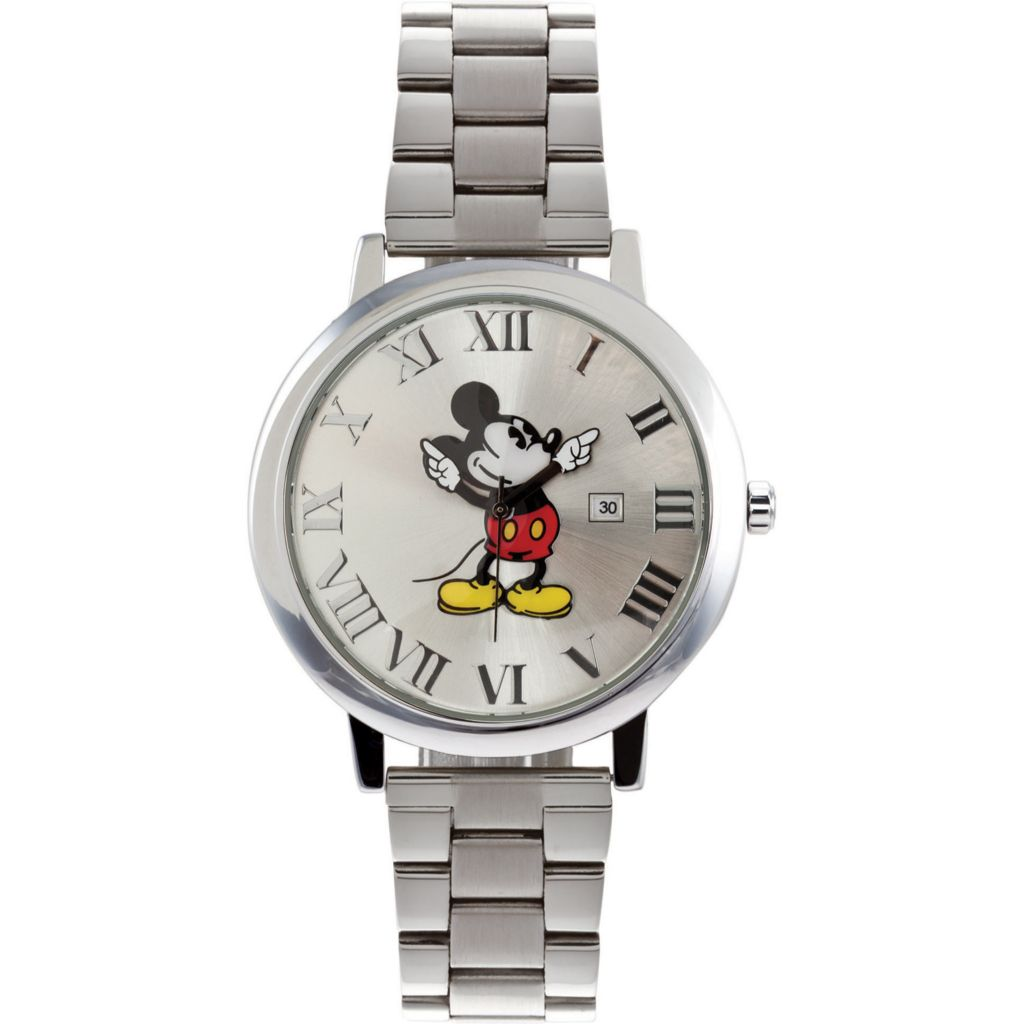 624-090 - Ingersoll Disney Men's Quartz Presentation Mickey Mouse Dial Bracelet Watch