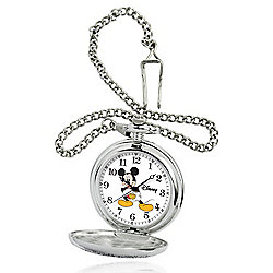 Disney® 51mm Quartz Mickey Mouse Pocket Watch