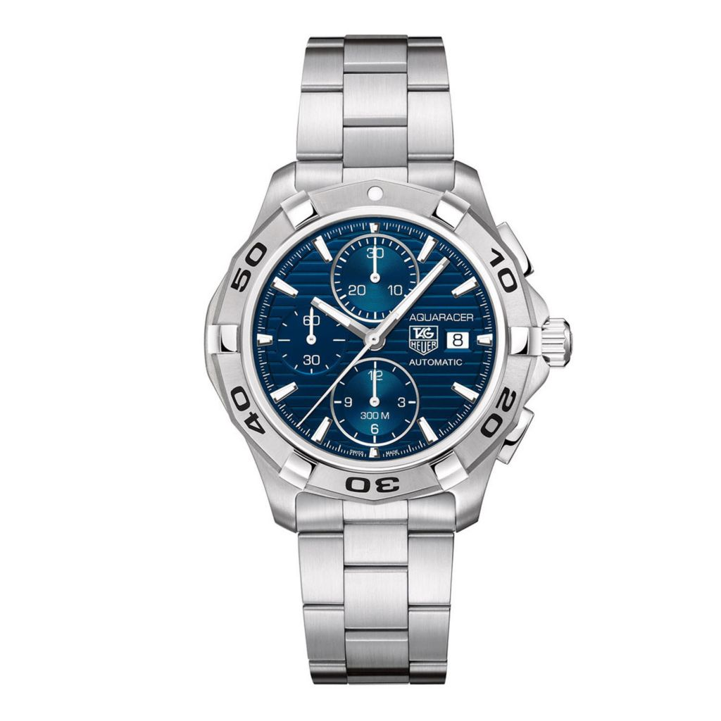 624-167 - Tag Heuer Men's Aquaracer Automatic Chronograph Stainless Steel Bracelet Watch