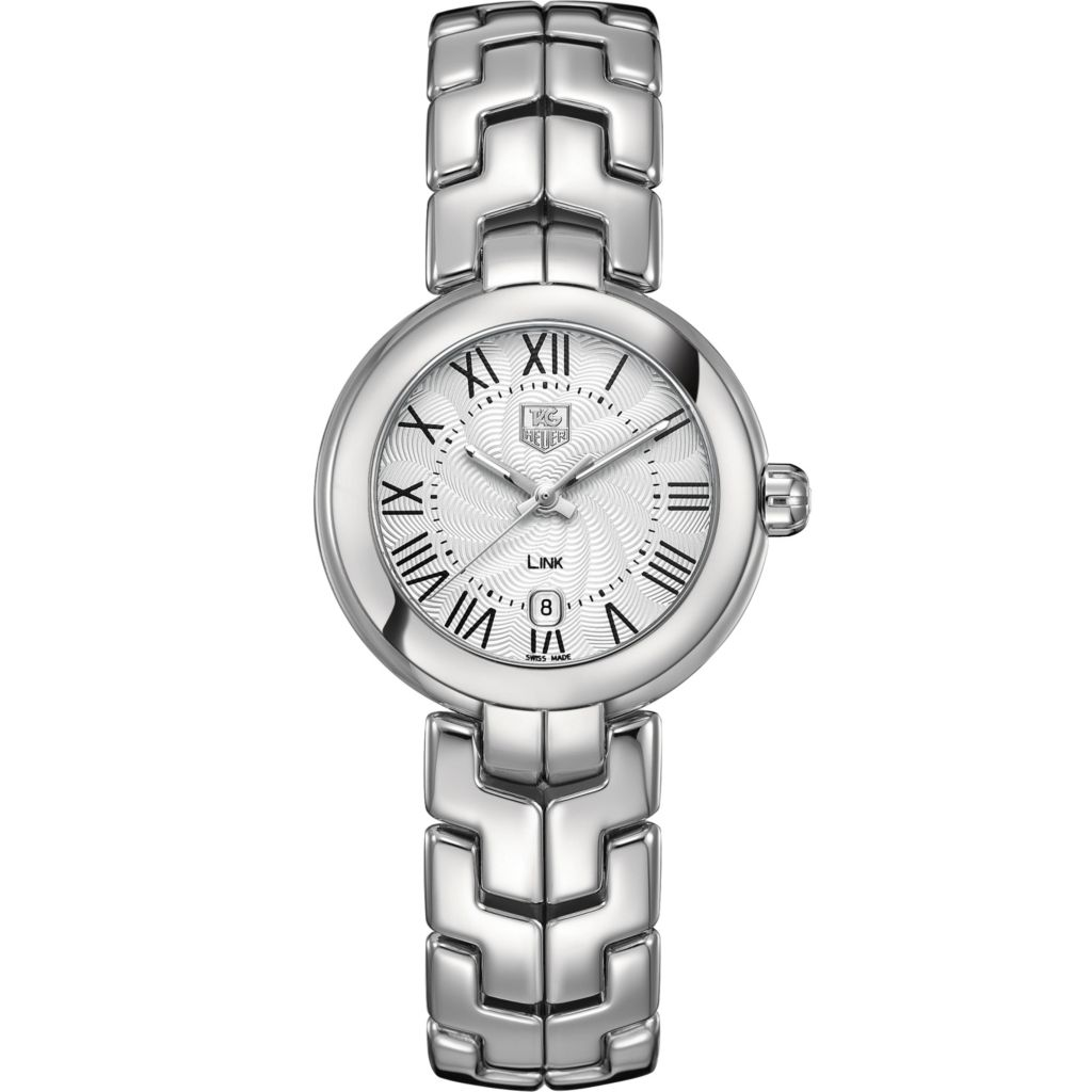 624-197 - Tag Heuer Women's Link Swiss Quartz Roman Numeral Stainless Steel Bracelet Watch