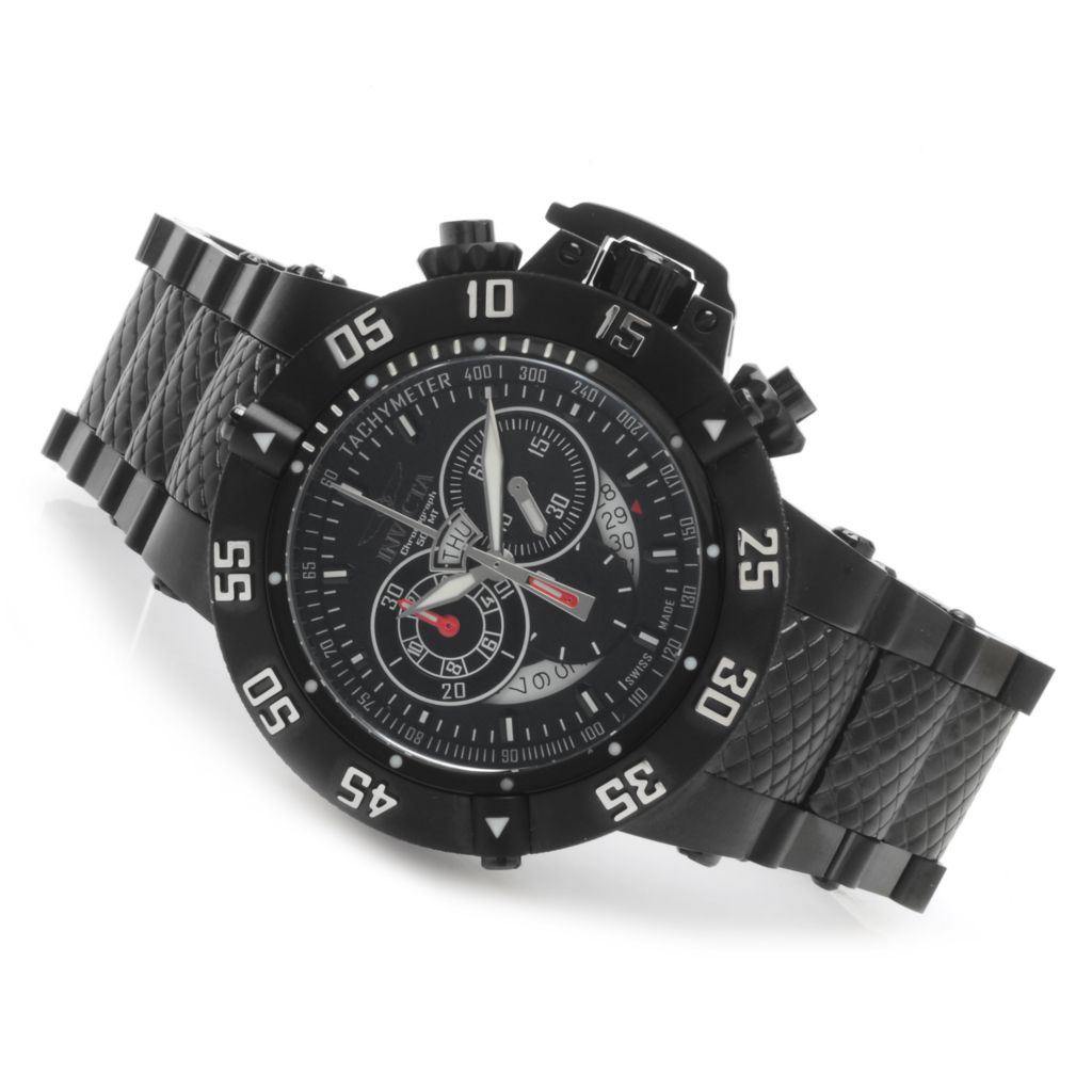 624-214 - Invicta Men's Subaqua Noma III Swiss Chronograph Bracelet Watch w/ Three-Slot Dive Case