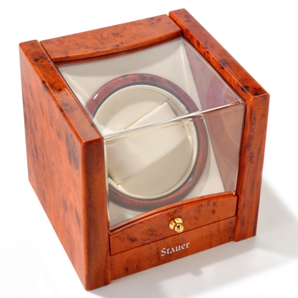 624-325 - Stauer Select Single Watch Winder w/ Display Window