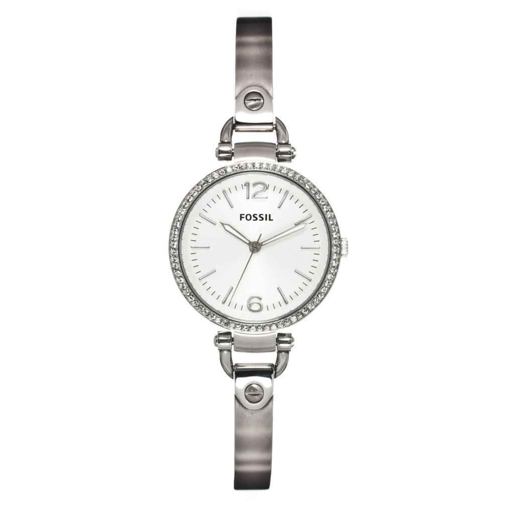 624-429 - Fossil Women's Georgia Quartz Stainless Steel Bracelet Watch