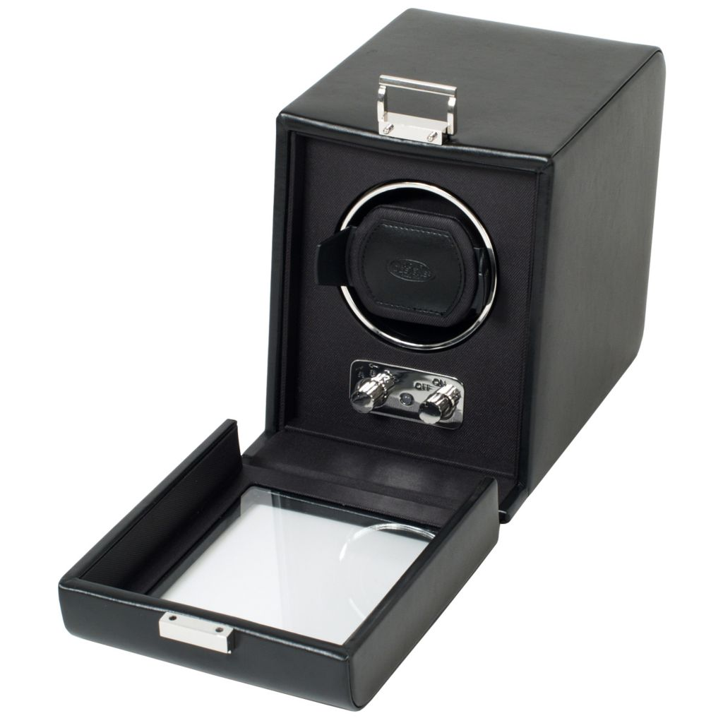 624-444 - Heritage by WOLF Single Watch Winder w/ Cover