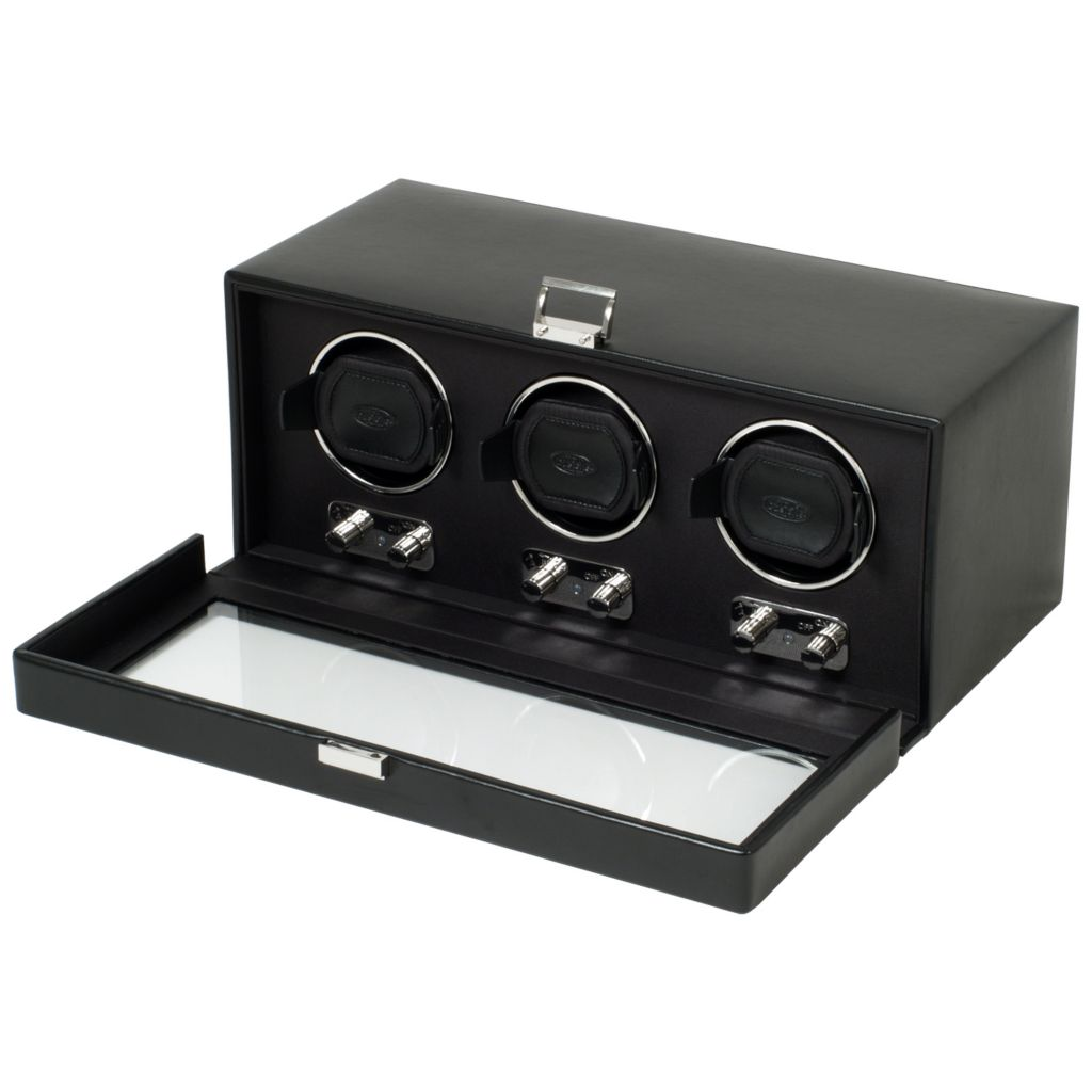 624-446 - Heritage by WOLF Double Watch Winder w/ Cover