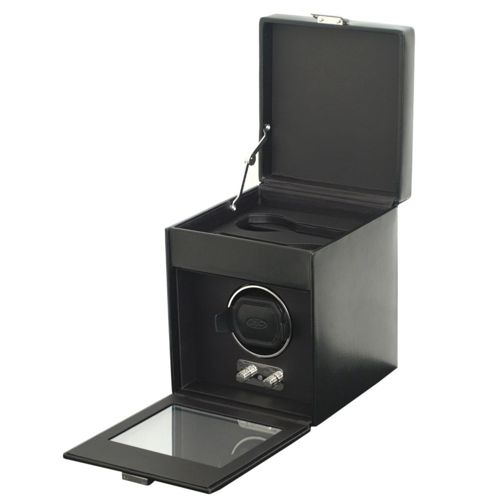624-447 - Heritage by WOLF Single Watch Winder w/ Cover & Storage