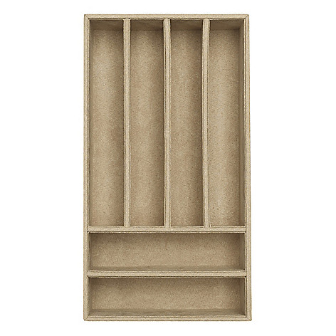 624-490 - WOLF Vault Six Compartment 7.75'' Organizer Tray Insert