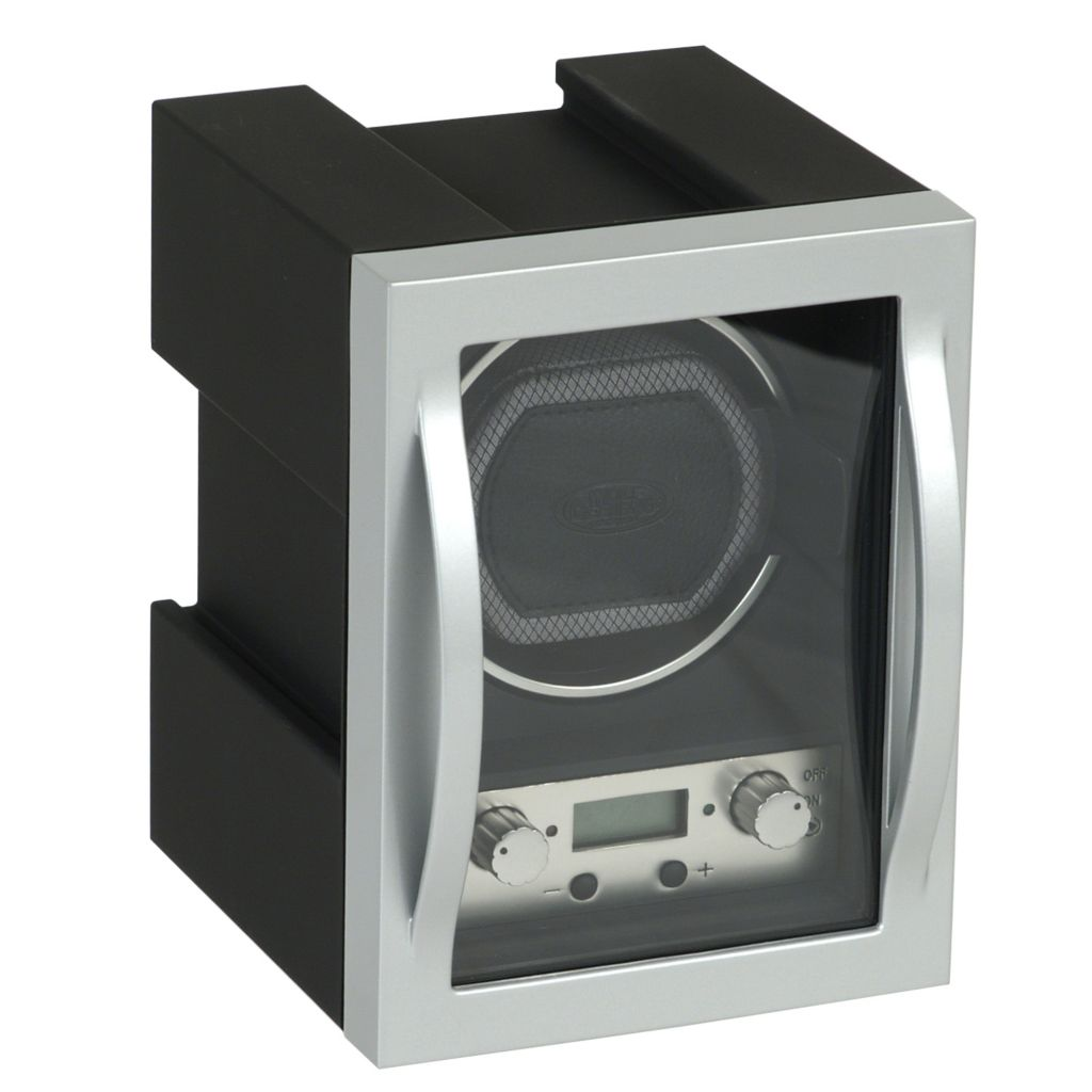 624-495 - WOLF Connectable Covered Programmable Module 4.1 Carbon Fiber Single Watch Winder