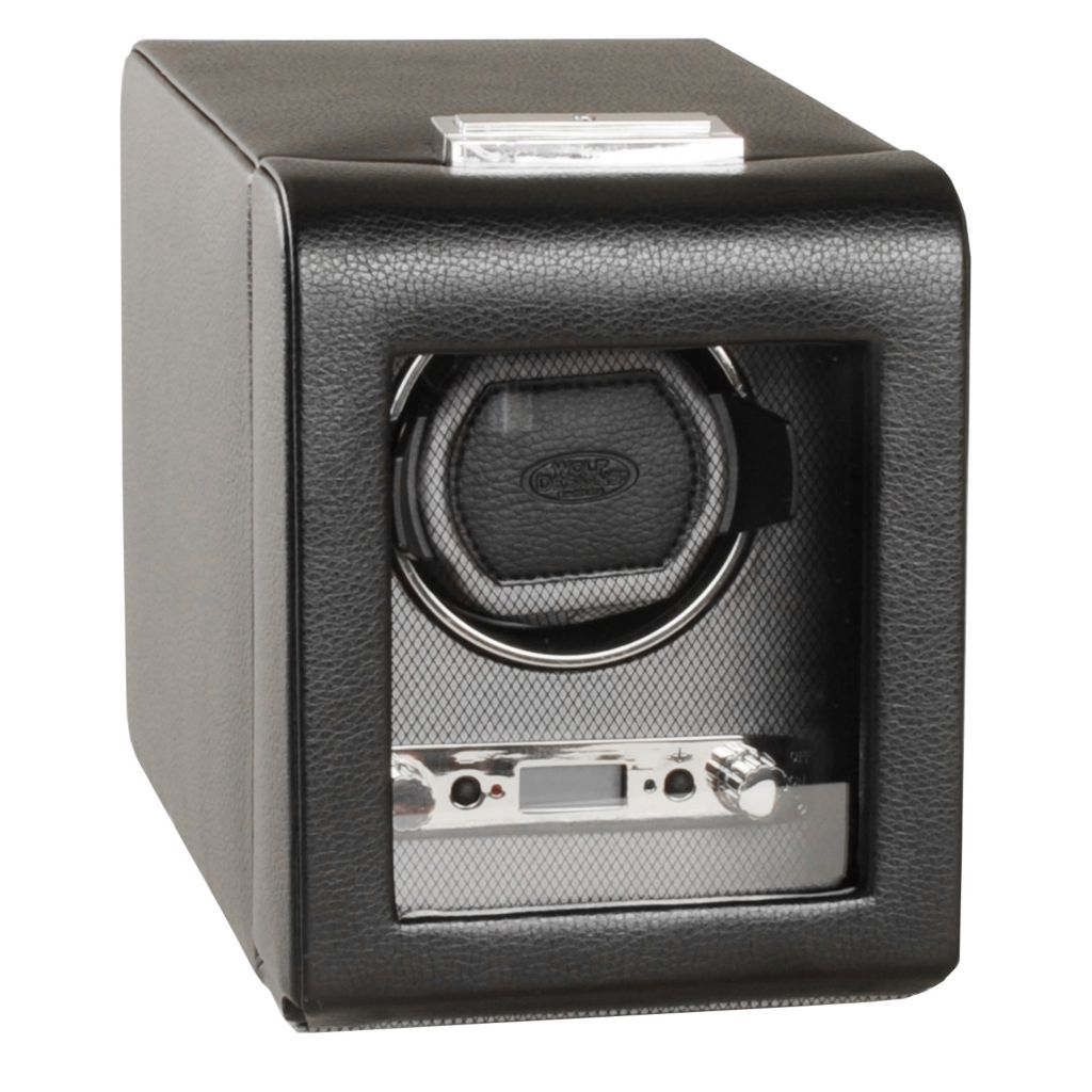 624-501 - WOLF Viceroy Module 2.7 Covered Programmable Single Slot Watch Winder