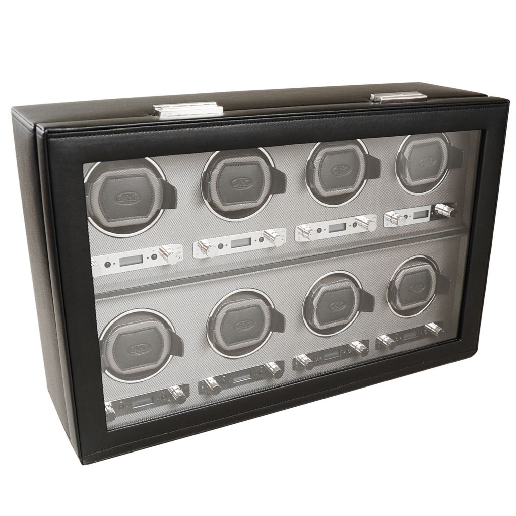 624-507 - WOLF Viceroy Module 2.7 Covered Programmable Eight Slot Watch Winder