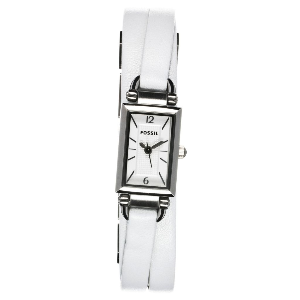 624-530 - Fossil Women's Delaney Quartz Leather Strap Watch