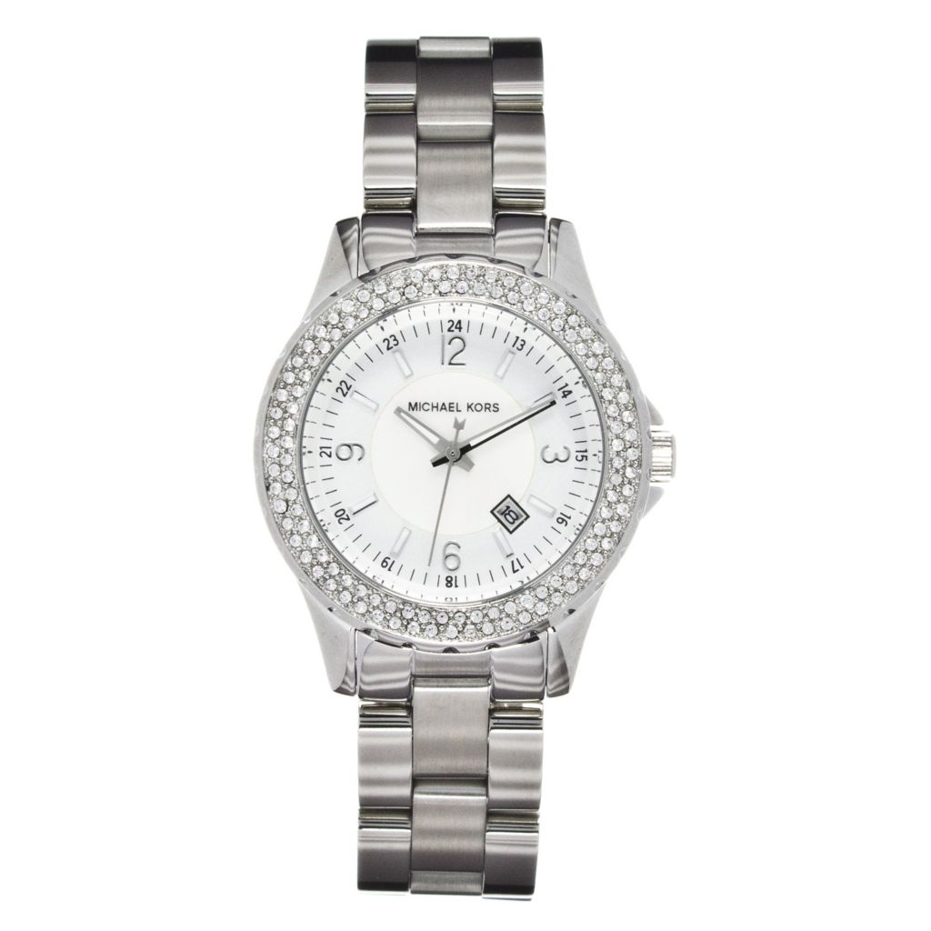624-571 - Michael Kors Women's Madison Quartz Stainless Steel Bracelet Watch