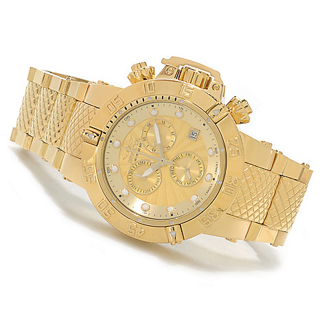 624-724 - Invicta Women's Subaqua Noma III Swiss Chronograph High Polish Bracelet Watch