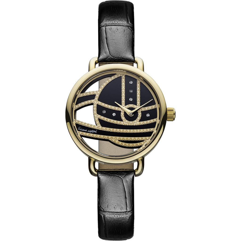 624-741 - Vivienne Westwood Women's Ladbroke II Ronda Swiss Quartz Leather Strap Watch