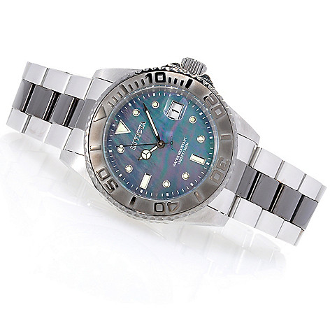 624-778 - Invicta 43mm Pro Diver Automatic Stainless Steel Bracelet Watch