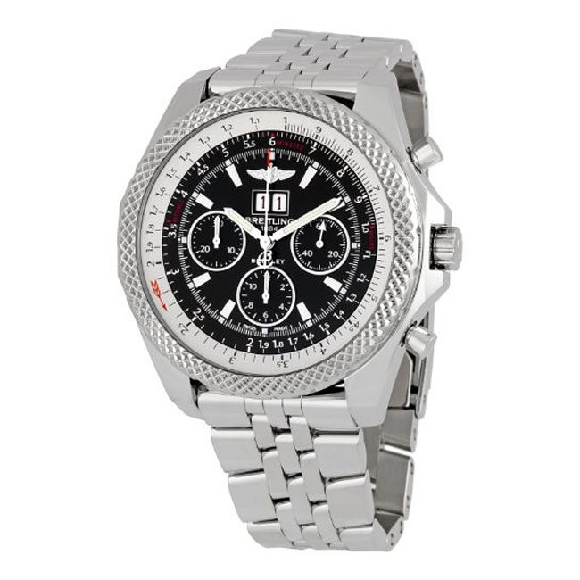 624-916 - Breitling for Bentley 48.5mm 6.75 Speed Automatic Chronograph Bracelet Watch