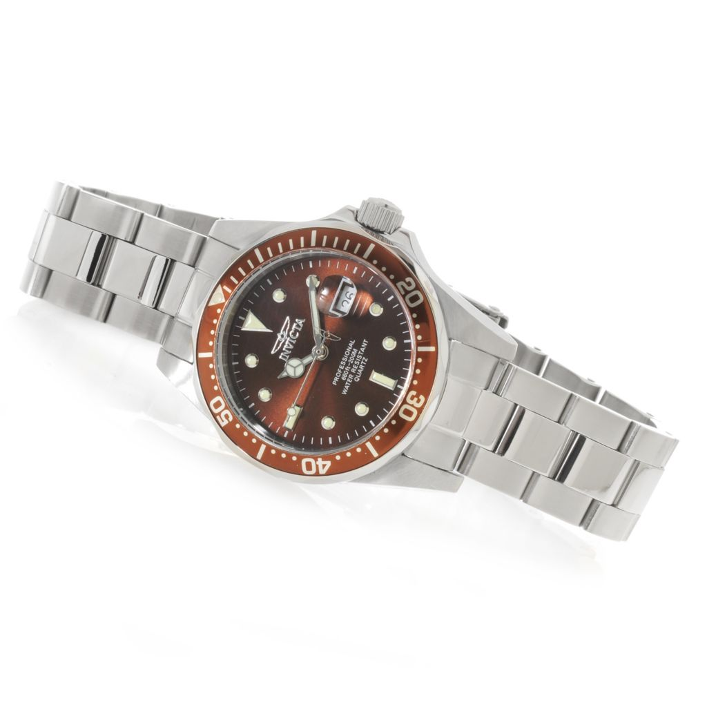 624-964 - Invicta Women's Pro Diver Quartz Stainless Steel Bracelet Watch