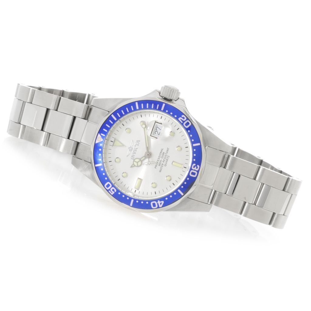 624-968 - Invicta Women's Pro Diver Quartz Stainless Steel Bracelet Watch