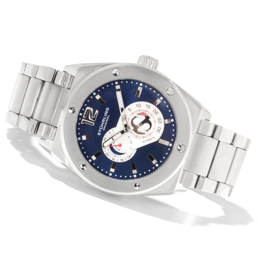 625-141 - Stührling Original Men's Leisure Gen-X Esprit Automatic Bracelet Watch